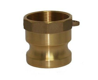 Brass Camlock Fittings - Type A - 3 Inch Adapter