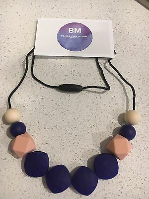 Silicone Sensory Necklace for Mum Gift Beads Aus Breastfeeding (was teething)