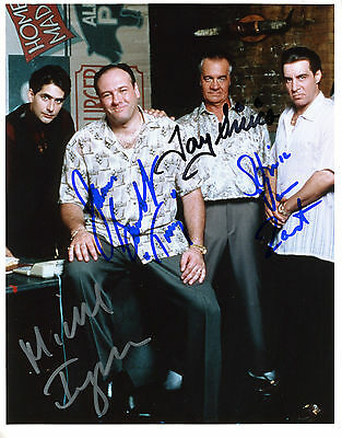 REPRINT Cast of The Sopranos #SN1 autographed signed photo copy