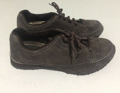 SKECHERS BIKERS CURBED Chocolate Women's Size 11M Relaxed