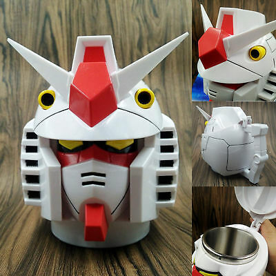 Mobile Suit Gundam Model Cup Collectible Stainless Steel Coffee Tea Mug Gift  IW