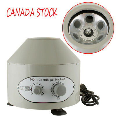 4000rpm 20ml x6 Benchtop Electric Lab Centrifuge Laboratory Medical Practice CA!