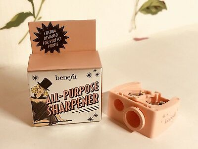 Benefit Cosmetics All-Purpose Pencil Sharpener Size Adjuster Blade Cleaning NEW