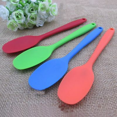 Solid Random Color Accessories Rice Serving Silicone Cooking Spoon Mixing