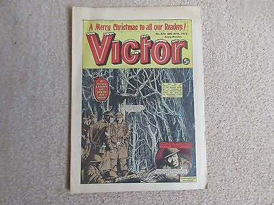 VICTOR Comic, No 775- Christmas Issue- Dec 27th 1975- Good condition- Warlord