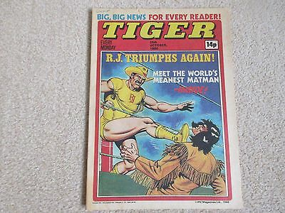 TIGER comic 25th October 1980- Middlesbourgh F.C issue- Good condition