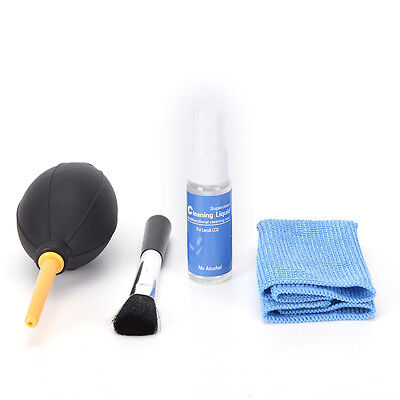 4 in 1 camera cleaning kit lens pen air blowing cleaning cloth brushggl