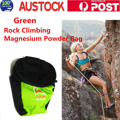 Outdoor Rock Climbing Magnesium Powder Bag Chalk Addict Polyester Waterproof