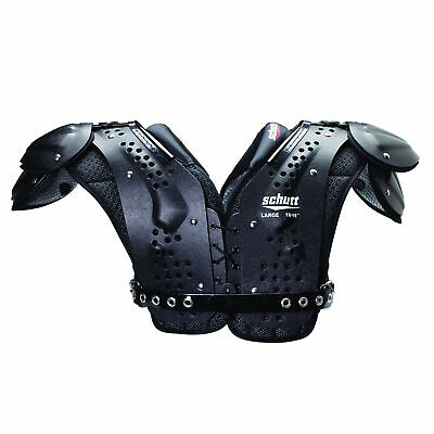 Schutt Varsity Flex 4.0 All Purpose VF Ut. EU Shoulder Pad - schwarz/rot