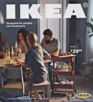 **SALE** New IKEA 2017 Catalog (English) US Edition **FREE 1-2 Days Shipping**