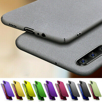 For Huawei Mate 10 Pro P8 P9 P10 Lite Slim Sandstone Hard Shell Back Cover Case