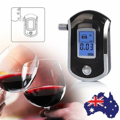 Breath Alcohol Tester Pro ALC Smart Digital LCD Breathalyzer Analyzer AT6000 WO