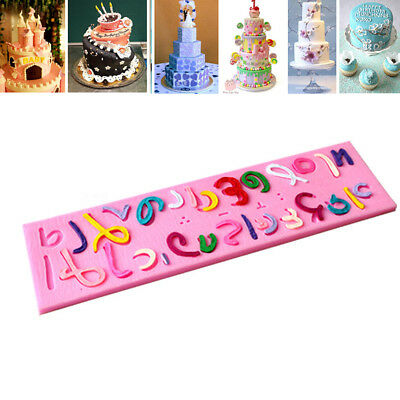 Israel Hebrew Letters Silicone Mold Fondant Cake Cookies Mould Kitchen Tools