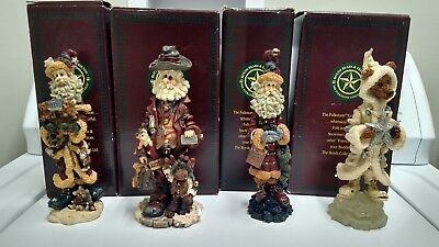 Boyds Bears and Friends The Folkstone Collection   lot of 4