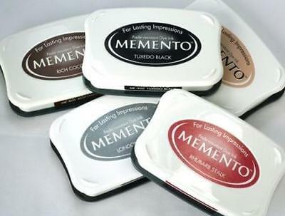 Memento Ink Pad Stempelkissen FARBAUSWAHLink pad stamp pad Dye Tinte