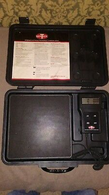 GEMTECH REFRIGERANT CHARGING SCALE. Like Brand New and Fully Functional