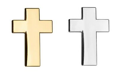 Gold or silver christian cross crucifix pin lapel badge hq gift gold or silver christian cross crucifix pin lapel badge hq gift easter negle Image collections