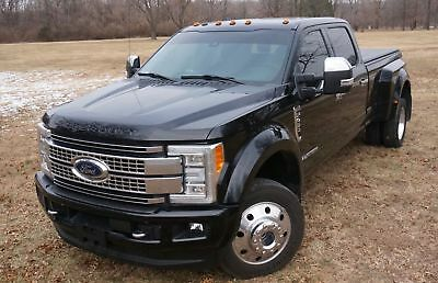 2017 Ford F-450 Platinum DIESEL 4X4 FULLY LOADED VAULT CAMERA SYSTEM FIFTH WHEEL MESSAGE SEAT MAKE OFFER