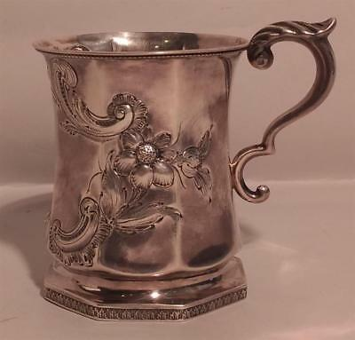 Victorian 1851 FWC Silver Goblet Lot 18