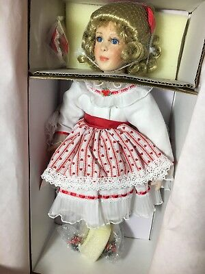 Paradise Galleries Porcelain Doll Treasury Collection  Valerie Exc.