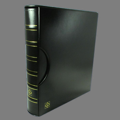 Large Capsule 120 Coin Album Lighthouse Grande Binder Slipcase 6 Pages Green