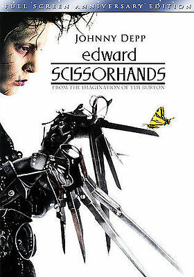 Edward Scissorhands (Full Screen Anniversary Edition) DVD, Johnny Depp, Winona R