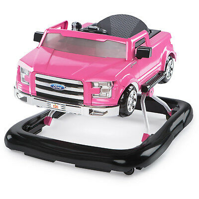 Baby Walker Toddler Girl Activity Learnin Toy Play Jumper Portable Pink Ford Car