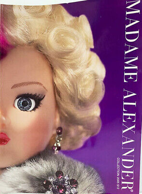 NEW 1998 Madame Alexander Doll Collection 75th Anniversary Color CATALOG Book