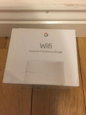 NEW Google Wifi Whole Home System Single Pack – White
