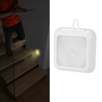 Wireless 6 LED Motion Sensor Security Lamp Wall Stair Cabinet Night Light LD1264