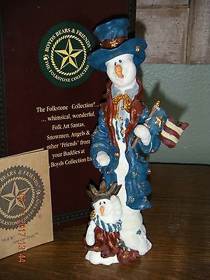 Boyds Bears Folkstone 1998~IKE & LIBBY...STARS & STRIPES FOREVER~STYLE #28103SYN