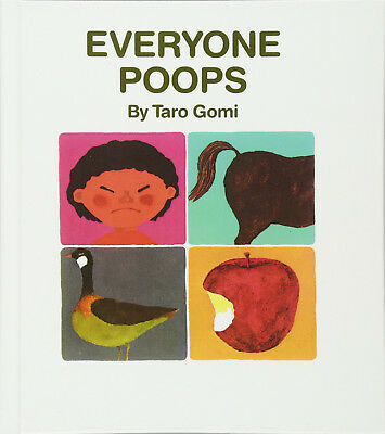 Everybody Poops by Taro Gomi ~ NEW paperback
