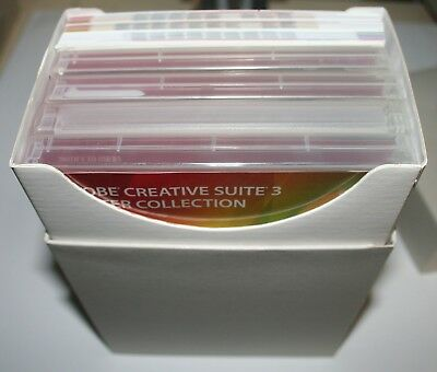 Genuine Adobe Creative Suite 3 Master Collection MAC Install Media  FREE POST
