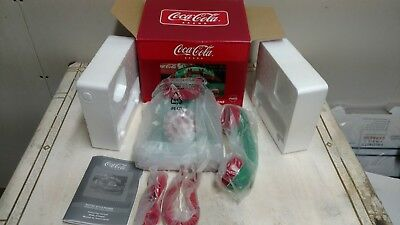 Coca-Cola Bottle Style Desktop push button Phone NOS