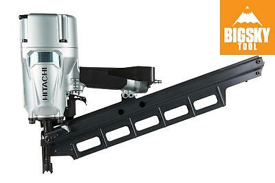 """Hitachi NR83A5S 3-1/4"""" Plastic Collated Framing Nailer, Without Depth Adjustm..."""
