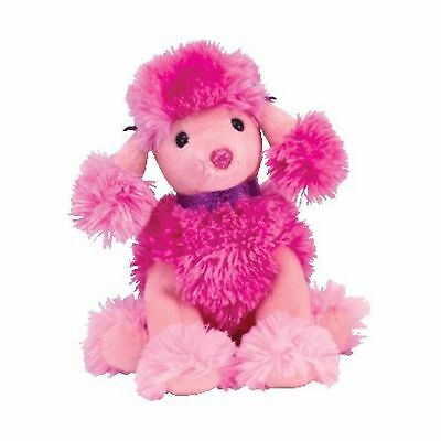 Ty Beanie Baby Ooh-La-La the Pink Poodle Dog