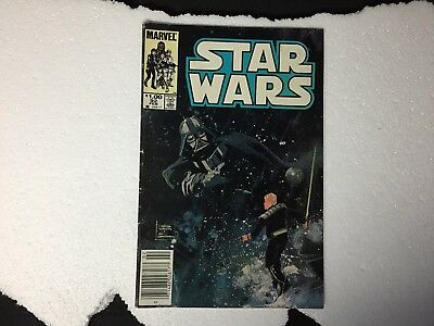 MARVEL 985 STAR WARS #92 (White Pages) Marvel Comics FREE S/H!
