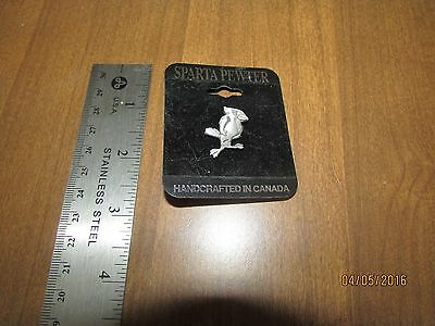 SPARTA PEWTER, Handcrafted In Canada, Lapel Pin,  Illinois State  REDBIRDS