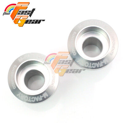 CNC Silver Billet  Racing Swingarm Spools Fit Kawasaki Z750/Z750S 2005-2015