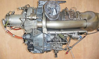 Bell 206 Helicopter C18c Engine with SPARE '0' time COMPRESSOR & '0' time F.C.U.
