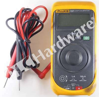 Fluke 707 Loop Calibrator with Quick Click Knob Lead Set