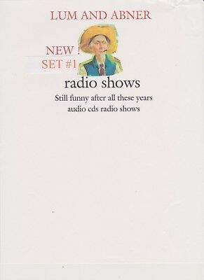 old time radio Lum and Abner 23 radio shows 4  audio cds set #4
