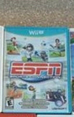 ESPN Sports Connection -- Nintendo Wii U Game -- C+ CONDITION