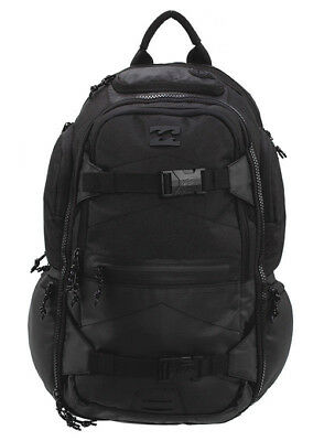 New + Tag Billabong Combat Mens Boys Backpack Skate School Gym Bag 35L Stealth