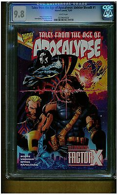 Tales From The Age Of Apocalypse #1 Cgc 9.8 Mint White Pages 1997 Brian Vaughan