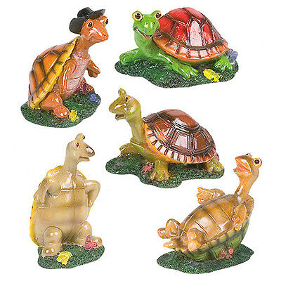 Karlie Flamingo Aquarium Dekoration Turtle Troop, UVP 6,39 EUR, NEU