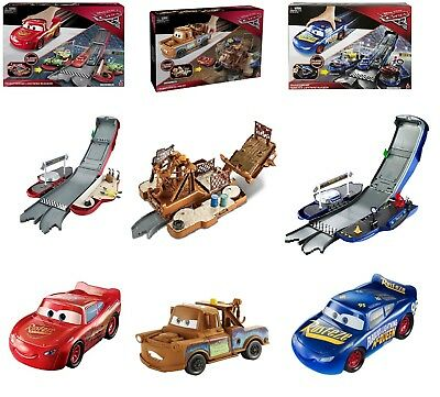 Disney Pixar Cars 3 Transforming Fabulous Lighting Mcqueen Ages 4+ Mater Play