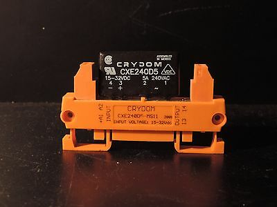 CRYDOM CXE 240D5 PLUS MS11 Solid State Relay DIN RAIL ADAPTOR