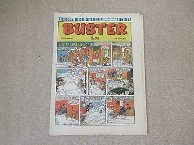 BUSTER COMIC- March  6th 1971, Very  good condition