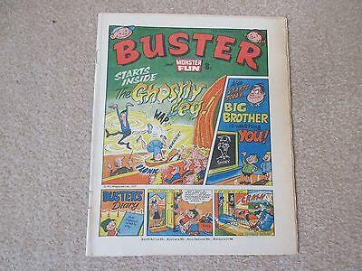 BUSTER & MONSTER FUN COMIC- December 17th 1977, Very  good condition